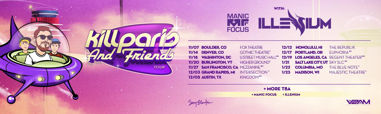 Kill Paris & Friends Tour